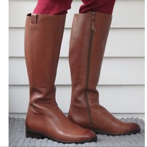 Cole Haan Katrina Brown Riding Boots NEW 5